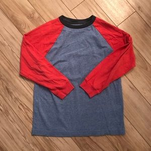 Old Navy color block long sleeve T